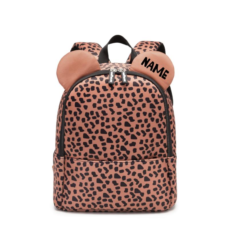 Backpack Bear Caramel Spots met naam