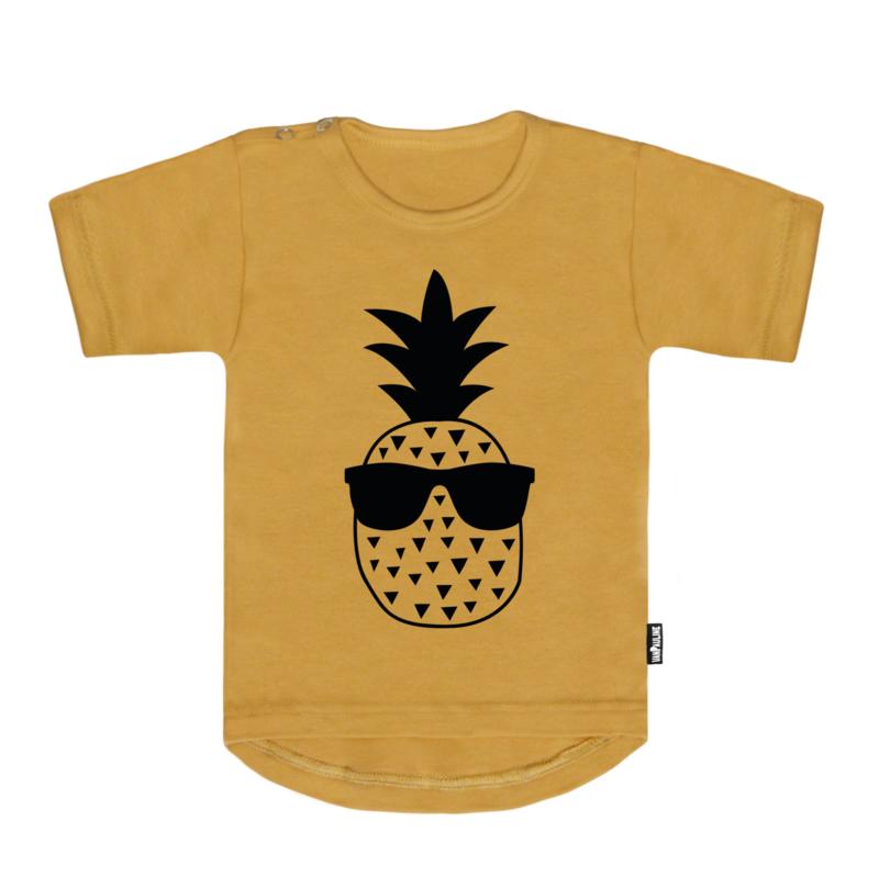 Pineapple  Geel KorteMouw