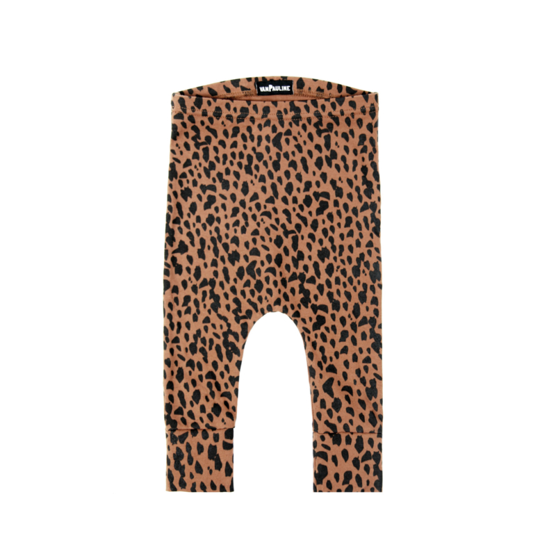 Pants Dots Caramel