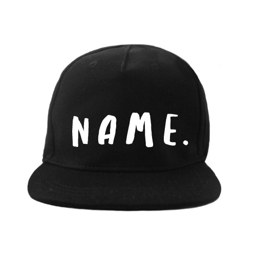 Cap Handwritten Name