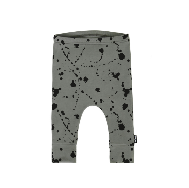 SPLATTER PANTS GREEN