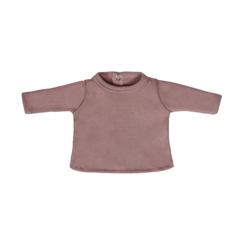 Poppenshirtje Dark Pink