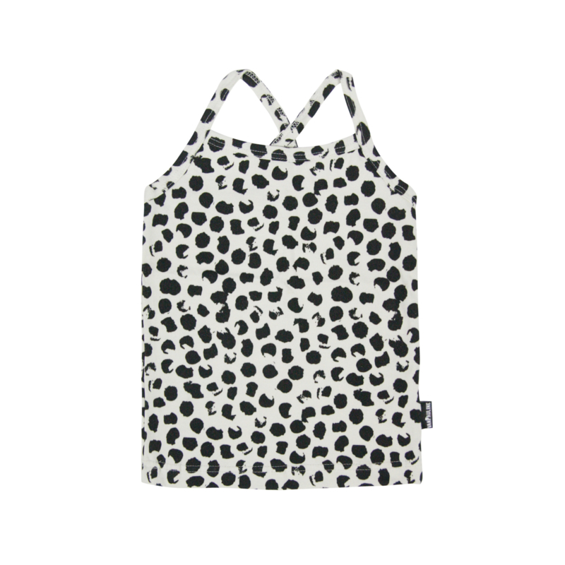 Top Ecru Big Dots SS20