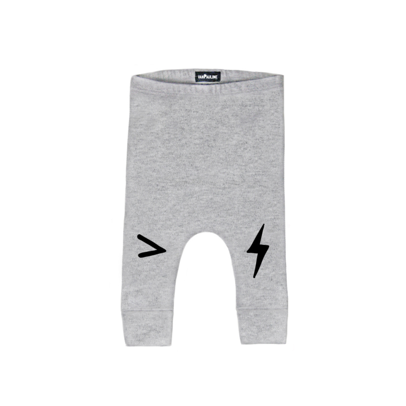 GREY LIGHTNING PANTS