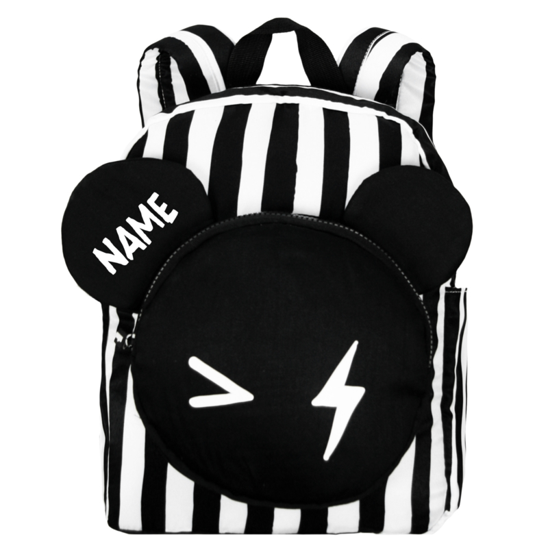 Backpack Bear Stripe Big Name