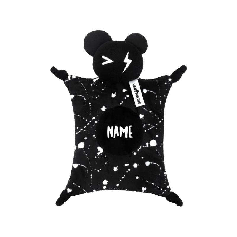 Blankie Bear Black Name