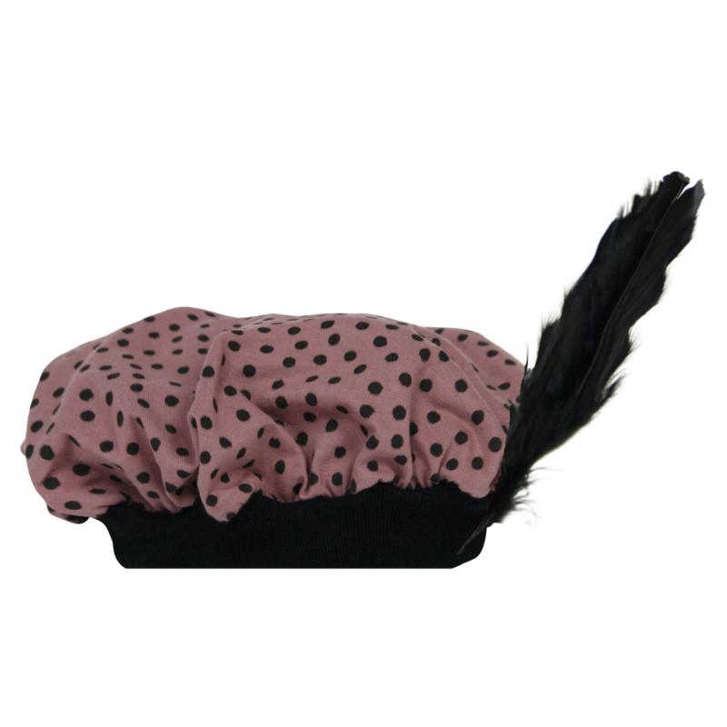 Pietenmuts Dark Pink Spots