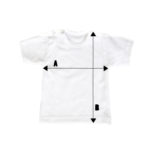 Size Chart Shirts vanPauline