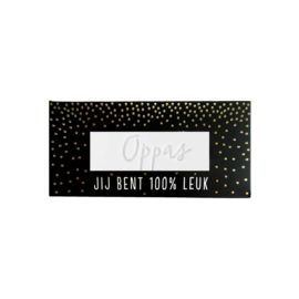 100%Leuk Complimenten Zeep Oppas