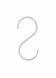 Vtwonen S haken Set van 6 stuks Wit