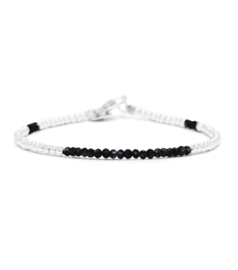 MIAB Armband Sterling Zilver - Black