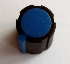 Make Noise knob blue, medium size