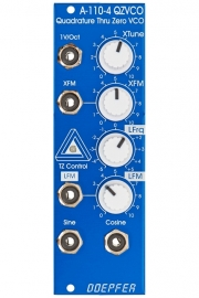 Doepfer A-110-4SE QAD VCO Special Edition Blue-White