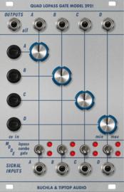 Buchla & Tiptop Audio 292t - Quad Lopass Gate