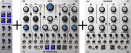 Intellijel - Dubmix + Mini exp. + Aux exp.  Combi pack!
