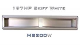 MS200W - Aluminium Eurorack Skiff 197 HP, White finish