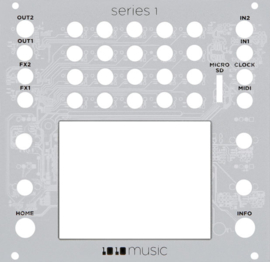 1010Music - Inverted Faceplate for Touchscreen Modules (series 1)