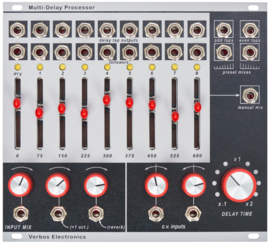 Verbos Electronics - Multi Delay Processor