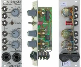 Doepfer A-138d Crossfader / Effect Insert Module