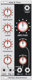 Verbos Electronics  - Amplitude and Tone 10HP