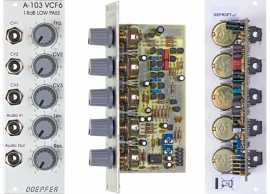 Doepfer A-103 18dB Low Pass 1 (VCF6)