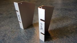 Tiptop Audio Z-Ears Tabletop Pair - Silver