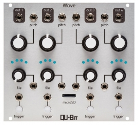 Qu-Bit Electronix -  Wave (4x Sample player) (silver)