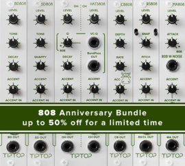 Tiptop Audio-  808 Anniversary set