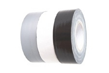 Nichiban gaffer tape 50mm*50m wit / white, 1x rol