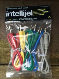 Intellijel Cablepack 12 inch (30cm) (5 pack)