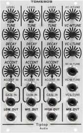 Tiptop Audio TOMS909 TR909 VC Analog Toms Generator