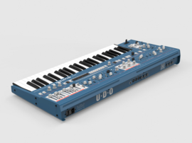 UDO Audio Super 6 Keyboard Blue