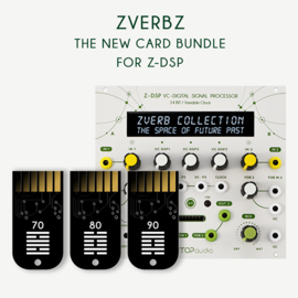 Tiptop Audio Z-DSP cartridgeset ZVERBZ The Spatial Bundle