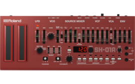 Roland  SH-01A  Synthesizer (Red)