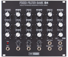 AJH FFB914 Fixed Filter Bank Dark Edition