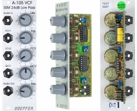 Doepfer A-105 24dB SSM Low Pass Filter