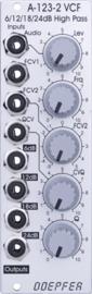 Doepfer A-123-2 6/12/18/24 dB Highpass