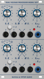 Buchla & Tiptop Audio 257t - Dual Voltage Processor
