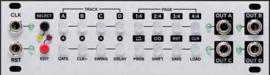 Intellijel Steppy 1U  4-Track 64-Step Programmable Gate Sequencer