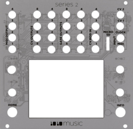 1010Music - Inverted Faceplate for Touchscreen Modules (Series2)