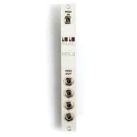 1010Music - MX4 – Buffered MIDI Multiple