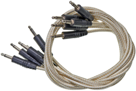 CablePuppy cable 120 cm (5 Pack) white-gold