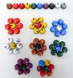 Doepfer coloured knobs