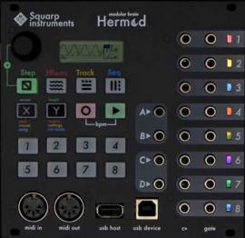 Squarp Instruments Hermod eurorack sequencer (black)