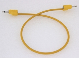 Tiptop Audio Stackcables Yellow  50cm