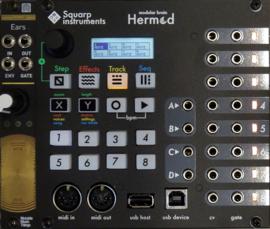 Squarp Instruments Hermod eurorack sequencer (black)