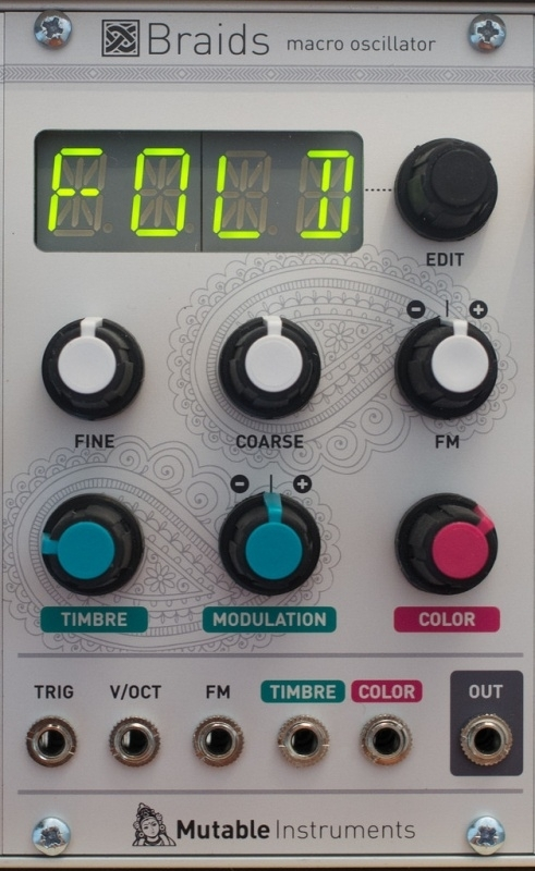 Mutable Instruments Braids (EOL)