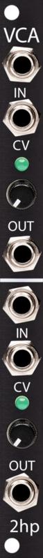 2hp - VCA Black