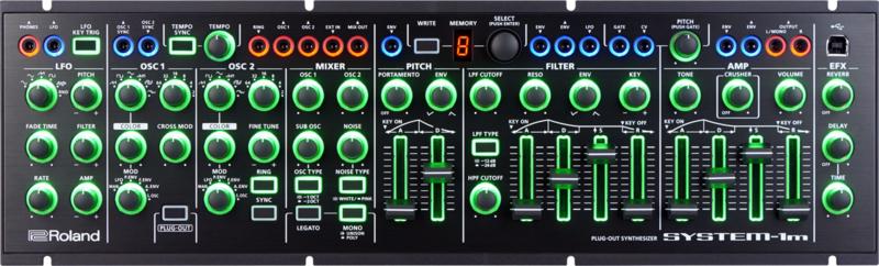 Roland SYSTEM-1m - Eurorack Synthesizer (84HP) (B-Stock)