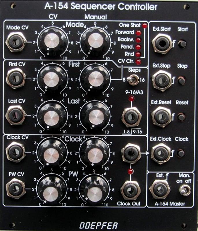 Doepfer A-154v Sequencer Controller (vintage black edition)